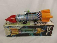 1960's yoshino toys ky japan battery #operated #space #frontier tin plate toy,  View more on the LINK: http://www.zeppy.io/product/gb/2/301570006744/