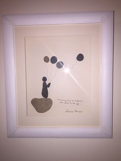 Pebble art all handmade and hand framed made with love in Ireland.