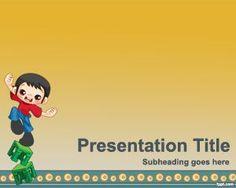 Plantilla PowerPoint de Humor es un fondo de PowerPoint con un niño haciendo malabares y es una plantilla divertida de PowerPoint                                                                                                                                                                                 Más