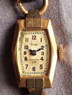 Montre ancienne Sam fabiqué par Lip or   argent Fonctionne   eBay Montres  Anciennes, Marque 8e58a9f7f97