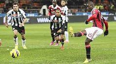 AC Milan vs Udinese live streaming online, AC Milan vs Udinese en vivo