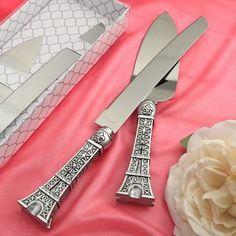 Eiffel+Tower+design+cake+set