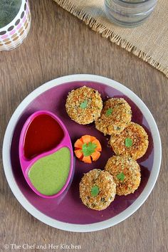 THE CHEF and HER KITCHEN: Oats Tikki | Oats Cutlet Recipe
