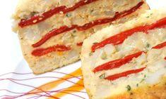 Receta de Pastel frío de bacalao y pimientos