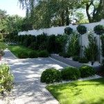 Ogród geometryczny - Tajemniczy Ogród Modern Garden Design, Country Roads, Gardens, Terraces, Garden Landscaping, Deco, Lawn And Garden, Modern Landscape Design, Contemporary Gardens