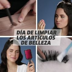 Day of cleaning beauty items - maaghie Simple Makeup Tips, Beauty Makeup Tips, Beauty Hacks, Dyi Makeup, Diy Maquillage, Oily Skin Makeup, Makeup Hacks Videos, Smoky Eye Makeup Tutorial, Best Makeup Brushes