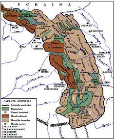 carpatii orientali Romania, History, Desktop, Africa, Geography, Desk, Historia, History Activities, Afro