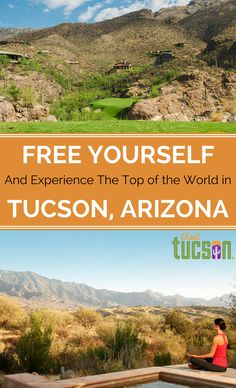 Free Yourself in Tucson! Vacations get us away from it all - they offer a chance to relax, rejuvenate, reconnect, renew. Travel allows us to find adventure, experience something different, and discover new places. In Tucson, that openness is best represented by the city's vast horizons - look up for endless blue skies, unbelievable sunsets, majestic sunrises. #Travel