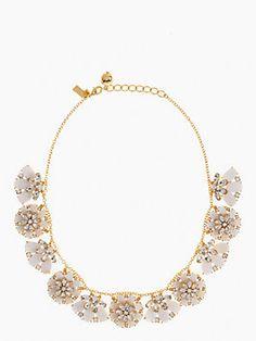 Kate Spade - Bungalow Bouquet Short Necklace $228