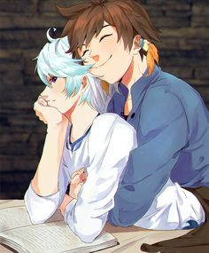 Tales of Zestiria    Sorey x Mikleo / SorMik♡