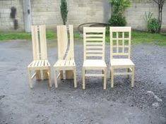 Resultado de imagen para sillas rusticas