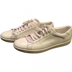 Pre-owned - Leather low trainers Saint Laurent 6N8wdEXtCZ