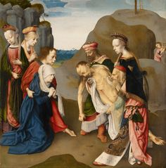 File:Master of the Virgo inter Virgines - Lamentation over the Dead Christ - Google Art Project.jpg