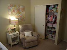 Project Nursery - closet organization