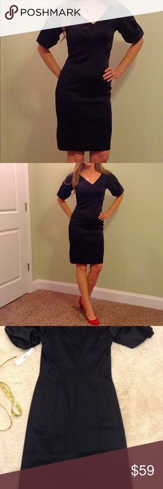 NWT Little Black Party Dress size 2 Antonio Melani Perfect Little Black Party Dress size 2 Antonio Melani. Brand New!!  Runs big. Fits more like a size 4.  Very high quality and fully lined. ANTONIO MELANI Dresses Midi