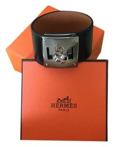 Hermes Kelly Dog Black Bracelet Palladium HW CDC Cuff Charm Rodeo Extreme. Get the lowest price on Hermes Kelly Dog Black Bracelet Palladium HW CDC Cuff Charm Rodeo Extreme and other fabulous designer clothing and accessories! Shop Tradesy now