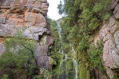 Den Algeria Wasserfall kann man auch bei einer 3-4 Stunden Rundwanderung erkunden  #Südafrika #Cederberge #Wandern #AlgeriaWaterfall