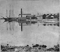 Great Harbor with the factory pre 1900.