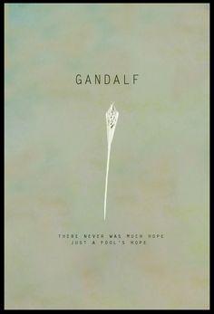 ~ Gandalf ~ Quotet ~ LOTR ~ Tolkien ~