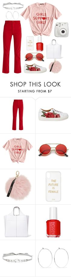 """""""grls"""" by kayladyal ❤ liked on Polyvore featuring Bliss and Mischief, ZeroUV, Harrods, Sonix, Victoria Beckham, Essie, Jenny Packham, Catbird and Fujifilm"""