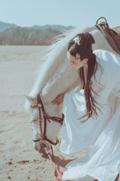 Asian Style, Chinese Style, Traditional Chinese, Korean Girl, Asian Girl, Ancient Goddesses, Creepy Pictures, Ancient Beauty, Chinese Clothing