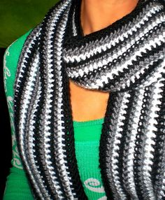 Ravelry: Simple Stripes Scarf pattern by Cindy Coleman