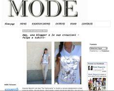 Federica Accaria Mode Magazine, fashion blogger stiliste capsul collection tshirt e felpe, nuovi magazine e blog moda, amanda marzolini the ...#fashionblogger #girl #fashionblog