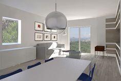 In un edificio Anni 70 affacciato sul golfo di Napoli una giovane professionista vuole trasformare un appartamento di 120 mq con giardino nella casa per sé, la madre e la figlia. Con un desiderio: avere un grande soggiorno aperto al paesaggio - #LivingCorriere