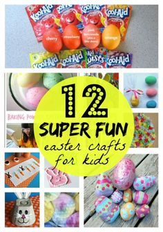 Easter will be here soon and my kids have been begging me to let them make Easter crafts, so I've been spending a lot of time on Pinterest lately! While searching, I've come across a whole heap of fun Easter crafts for kids, and thought I'd share a few of them with you, too!