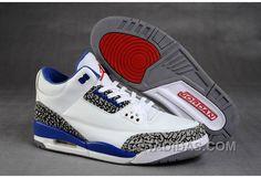 huge discount 72a53 8429d Air Jordan 3 Retro White True Blue Achat Pas Cher, Price   78.00 - Adidas  Shoes,Adidas Nmd,Superstar,Originals