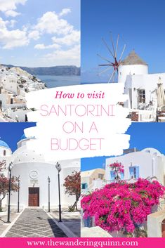 Updated Here is my Santorini Budget Guide because you can visit Santorini on a Budget! Including Budget Hotels in Santorini and things to do in Santorini, Europe Travel Tips, Budget Travel, Travel Usa, Travel Guides, Europe Budget, Travel Hacks, Travel Destinations, Iceland Budget, Travel Vlog