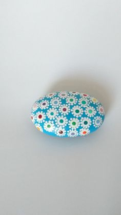 Individually hand painted mandala rocks. by Carolsmandalarocks