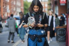 The+Latest+Street+Style+Photos+From+London+Fashion+Week+via+@WhoWhatWear