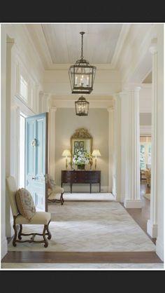 Gorgeous interior columns