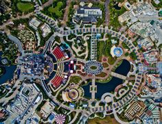 History in the making:    Featuring six themed areas, two themed hotels, a shopping district, and several parks and gardens, the sprawling resort covers an area the equivalent of 1,000 football fields. Tickets for children and adults are priced at $56 and $75 respectively. Disney is expecting 10 to 12 million visitors in its first year of operations.