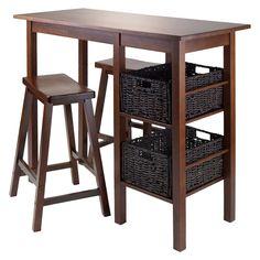 Winsome Basket Pub� Dining Table Set (Set of 5)