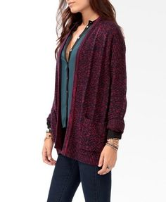 Marled Open Cardigan | FOREVER 21 - 2025101757