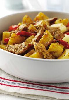 Jamajska potrawka z kurczaka - pycha!