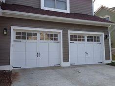 Carriage House Garage Doors - craftsman - garage doors - detroit - Premier Door Service of Detroit