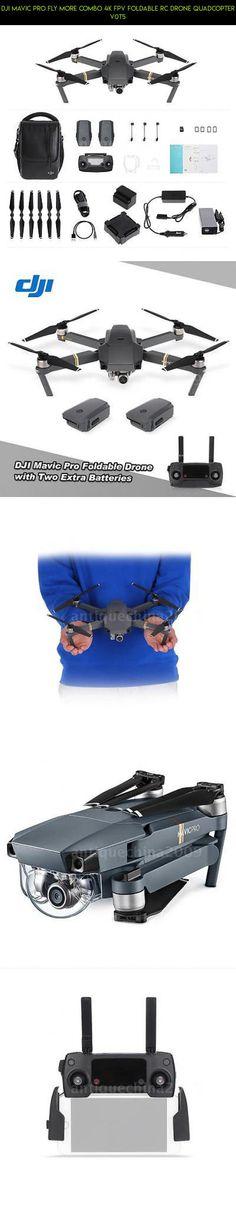 DJI Mavic Pro Fly More Combo 4K FPV Foldable RC Drone Quadcopter V0T5 #quadcopter #racing #camera #kit #plans #gadgets #mavic #parts #shopping #fpv #tech #technology #drone #products #pro