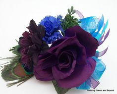 Baby Sock #Corsage #diy #idea (Corsage and Boutonniere)