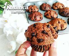 DAMLA ÇİKOLATALI MUFFİN TARİFİ http://kadincatarifler.com/damla-cikolatali-muffin-tarifi-2