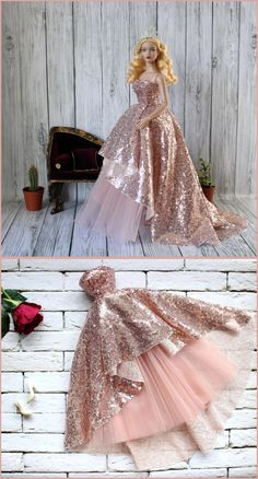 Welcome to fashion store for Tonner and FR dolls! Here you can find only the best design, high quality and large assortment. # TonnerTyler toys Tonner dolls, Tyler Tonner, dress gown outfit for Tyler Tonner doll, clothes for Tonner Sydney Sewing Barbie Clothes, Barbie Sewing Patterns, Doll Dress Patterns, Clothing Patterns, Vintage Barbie Clothes, Coat Patterns, Barbie Gowns, Barbie Dress, Barbie Doll