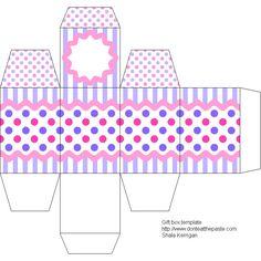 Easter Gift Box Template #diy #crafts #eggbox #making #family #kids #home #yourhomemagazine