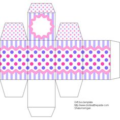 Easter Gift Box Template #diy #crafts #eggbox #making #family #kids #home #yourhomemagazine
