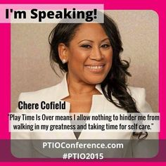Register for this conference that's sure to give you a spark, refuel your engine, and motivate you to continue walking in your greatness! www.ptioconference.com