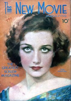 Joan Crawford The New Movie magazine cover 35m-2353