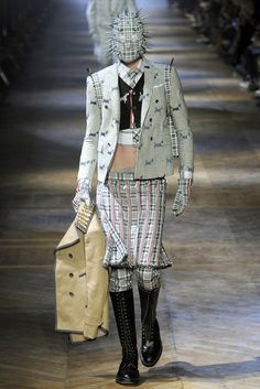See the complete Thom Browne Fall 2012 Menswear collection.