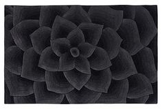 One Kings Lane - Shades of Style - Peapack Rug, Charcoal