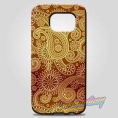 Red Gold Damask Pattern Samsung Galaxy Note 8 Case | casefantasy